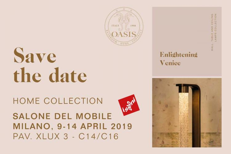 Oasis at Salone del Mobile in Milano 2019