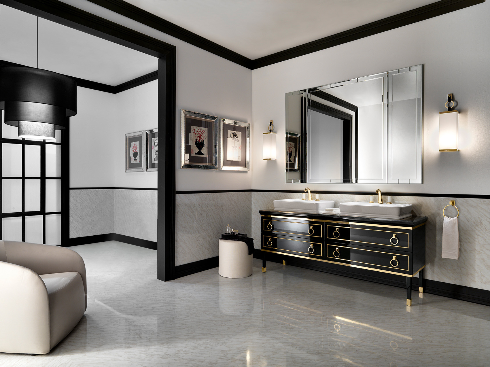 Lutetia Collection Of Luxury Bathroom Furniture By Oasis