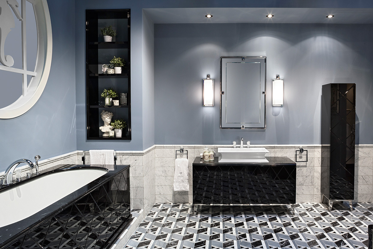Rivoli collection by oasis luxury bathroom collection for Small bathroom oasis