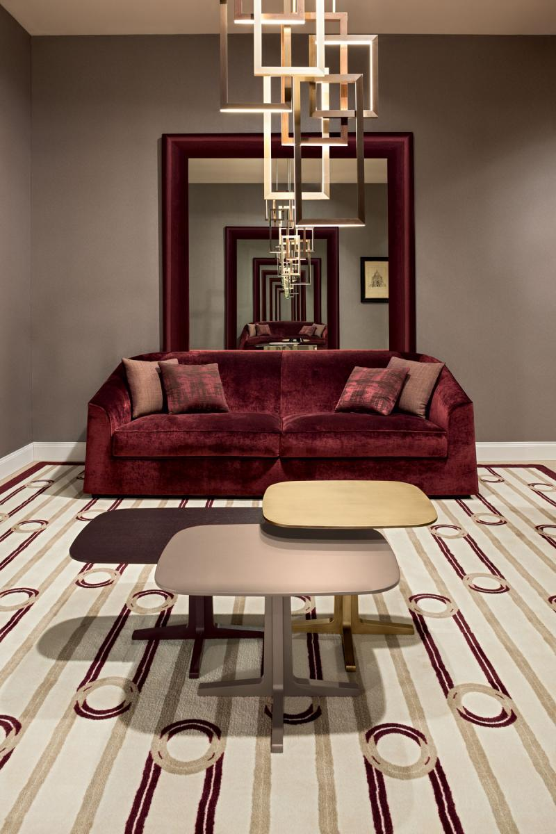 Red Velvet Touch Reading Room Oasis Rooms Luxury
