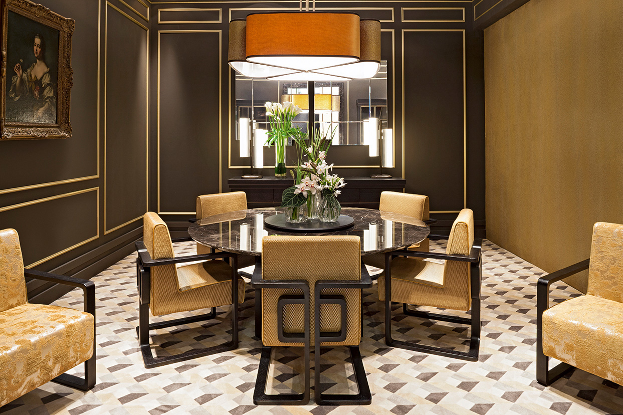 Dining room marble