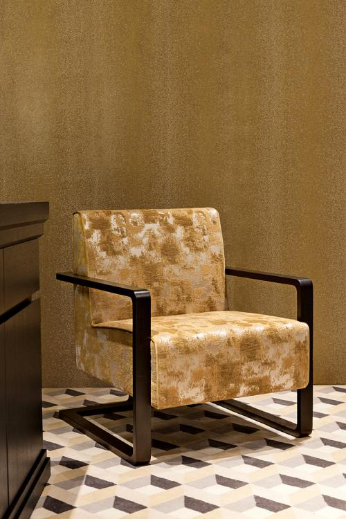 Golden Matisse armchair by Oasis