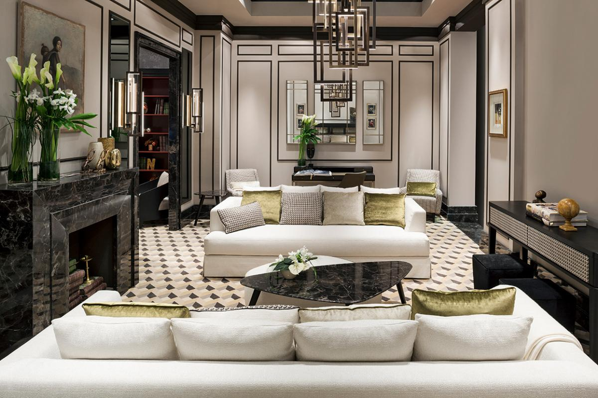 Bright Springy Living Room Oasis Rooms Luxury Interior