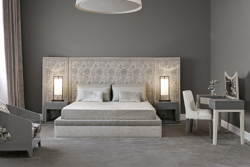 Shades of grey sleeping room oasis rooms luxury for Sleeping room interior design
