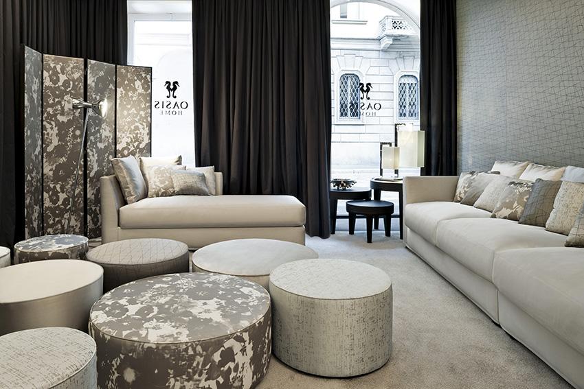 stil wohnzimmer interieur gegensatze, eisige töne im wohnzimmer | oasis rooms | luxuriöses interior design, Ideen entwickeln