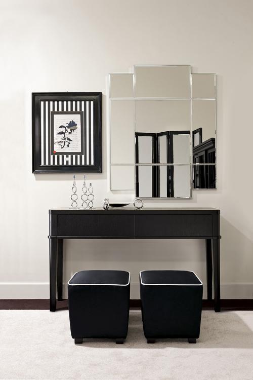 Schwarz & Weiß – Esszimmer