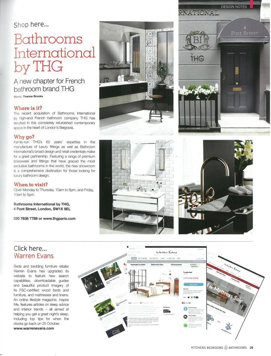 Kitchens Bedrooms Bathrooms – United Kingdom – October 2015