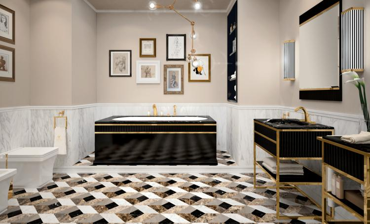 Oasis bathroom luxury complements for Arredo bagno design lusso