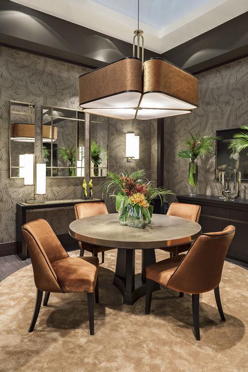 Autumn Leaves - Oasis dining room