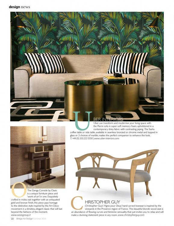 Editorial in Bridge For Design - June 2016