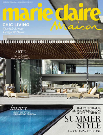 Turbo Marie Claire Maison - August 2016 - Oasis Company QI92