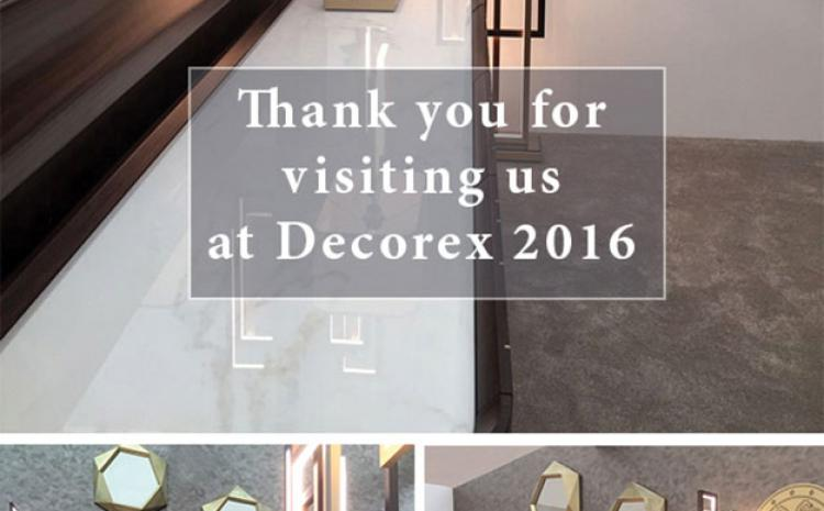A great success at Decorex 2016