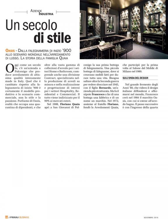 Il Friuli Business Magazine