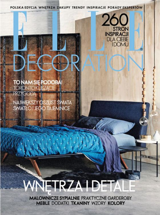 Elle Decoration Poland - cover