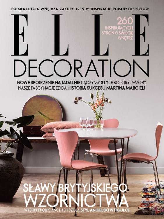 Cover Elle Decoration Poland
