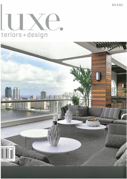 Cover Luxe Interior Design Miami