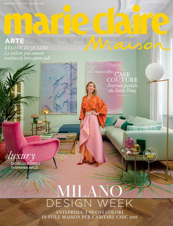 Marie Claire Maison cover 04.2018