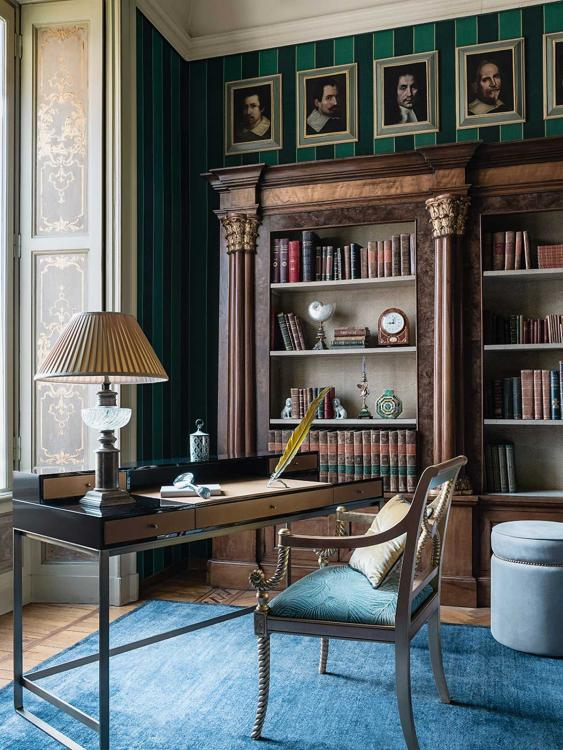 Proust writing desk in Marie Claire Maison magazine 04.2018