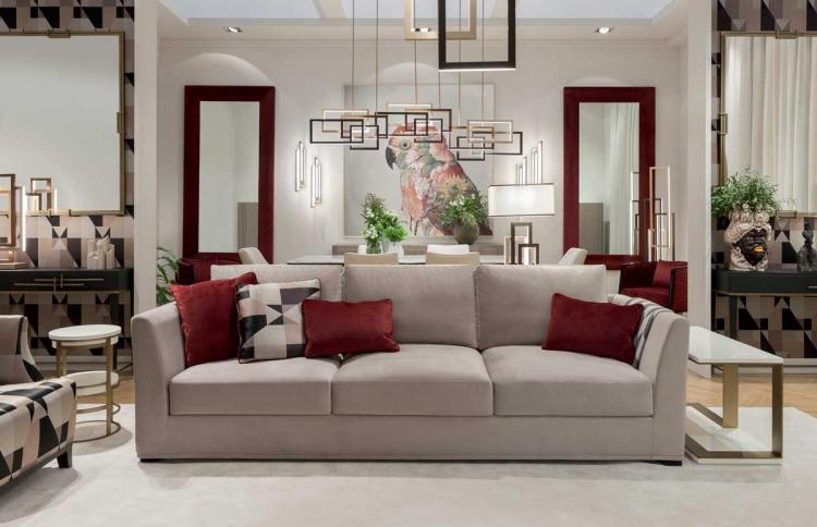 A classic reloaded living room