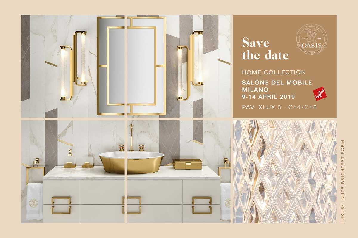 OASIS @ MILAN DESIGN WEEK | 09 – 14 April 2019 |