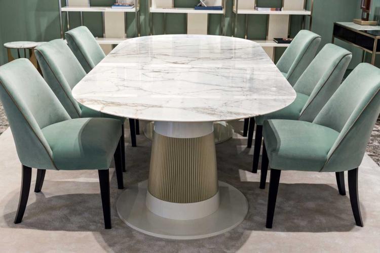 Subtle Sage Dining Room