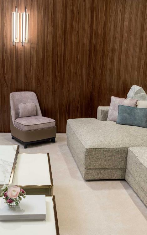 Oasis Mélange of Materials  Living Room