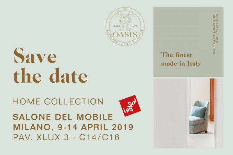 Oasis at Salone Milano 2019