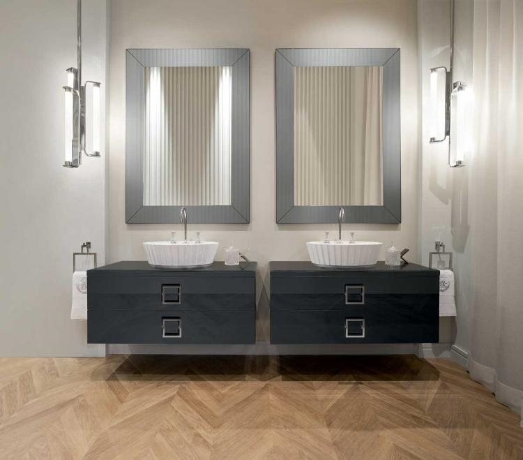 Daphne Collection with Plissè washbasin
