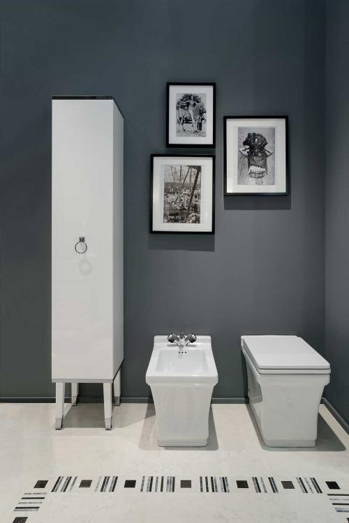 Lutetia tall unit, sanitary ware