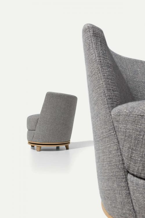 Ava Swivel Armchair - Home Collection
