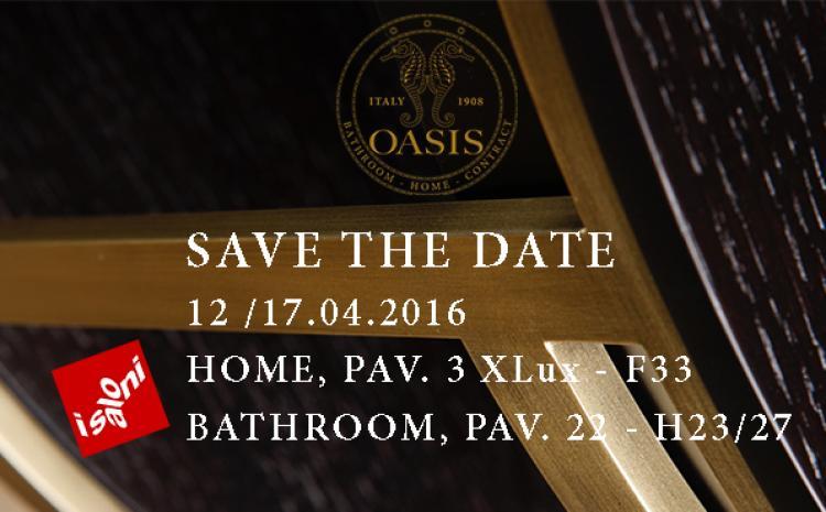 SAVE THE DATE – Salone del Mobile Milano 2016