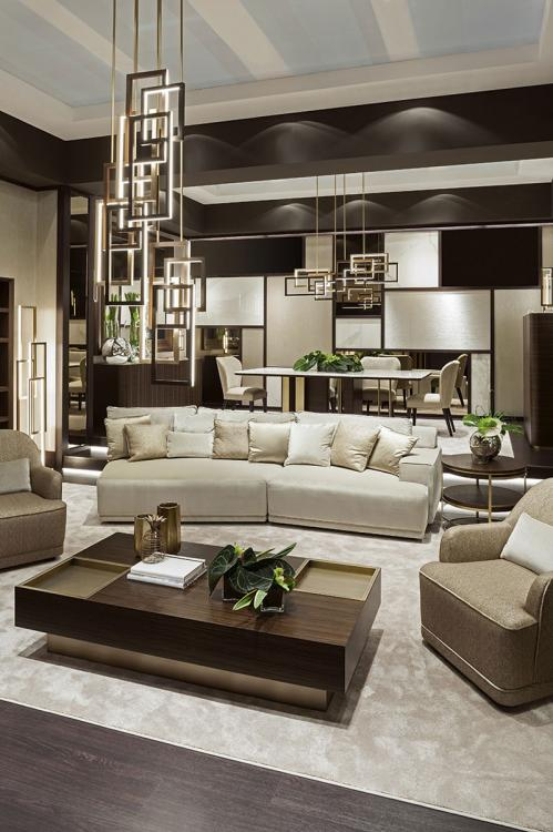 Symphony in beige Oasis living room