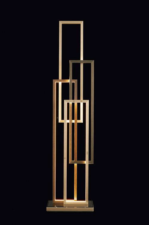 Edge floor lamp