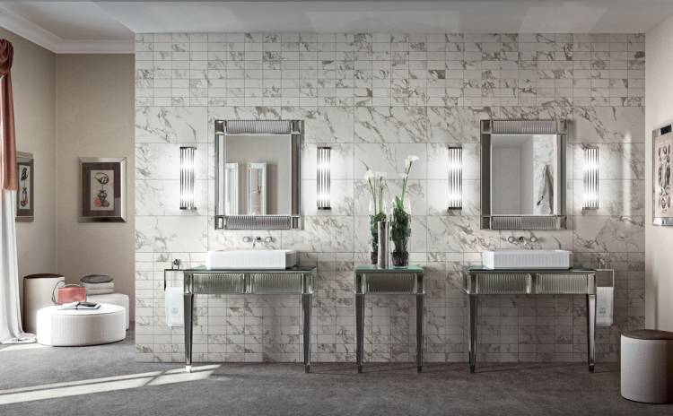 Rialto collection of luxury bathroom furniture by Oasis