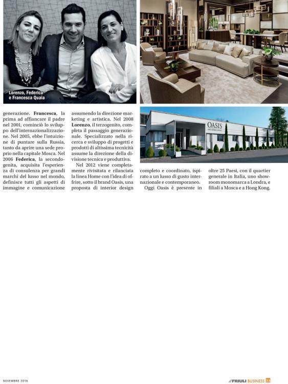 Il Friuli Business – November 2016