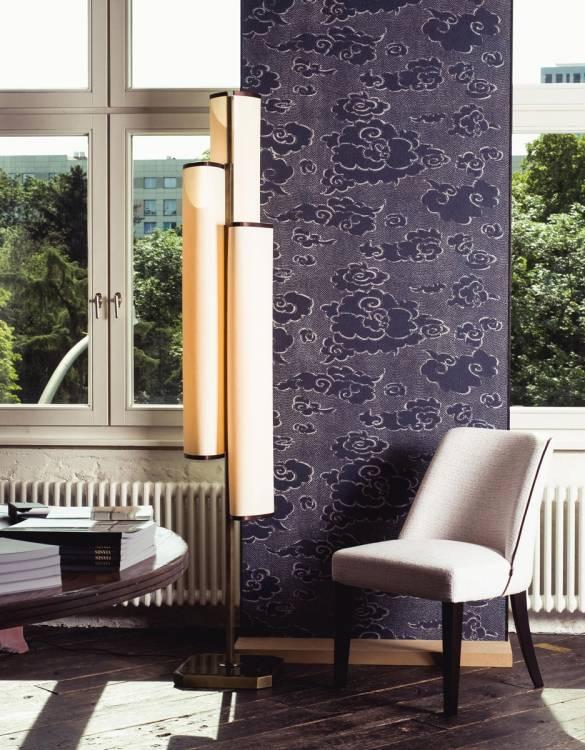 Flower floor lamp - Musa chair