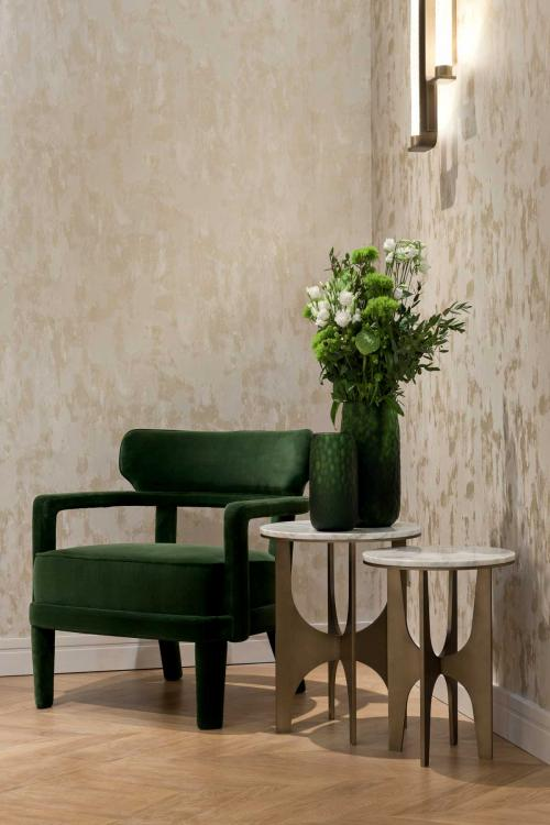 Zoe armchair and Sullivan side table