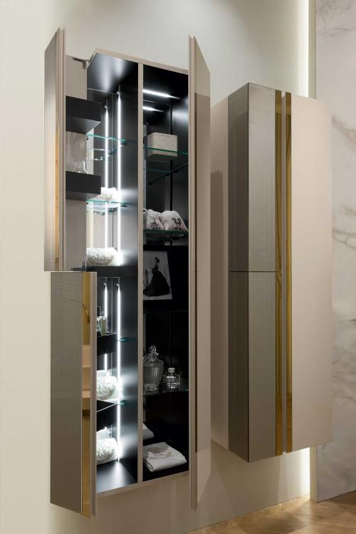 Charme suspended tall unit