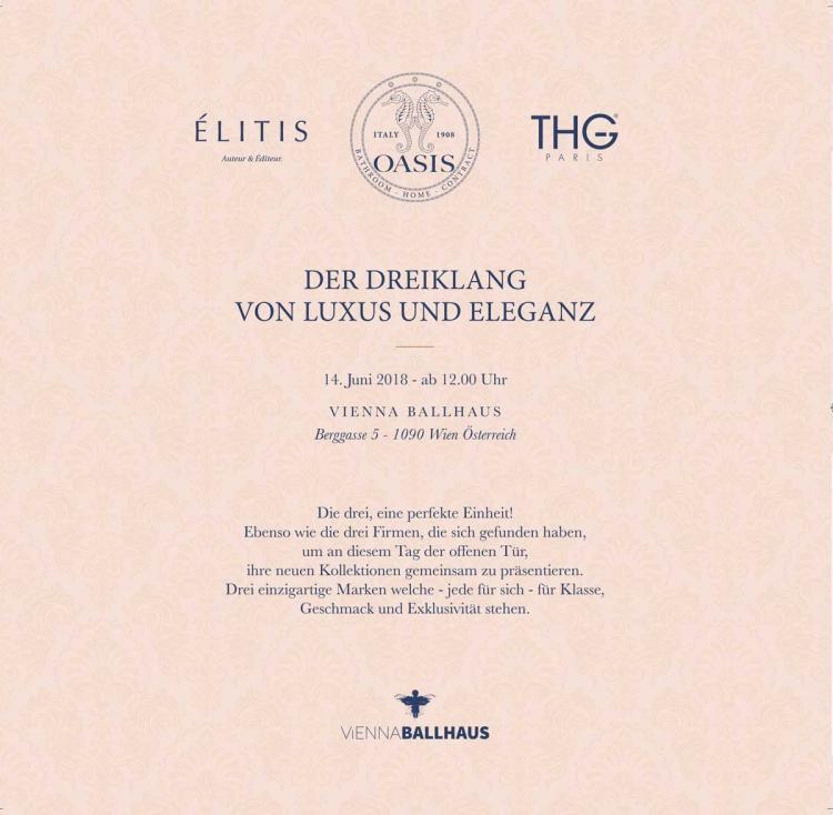 Oasis event at Vienna Ballhaus