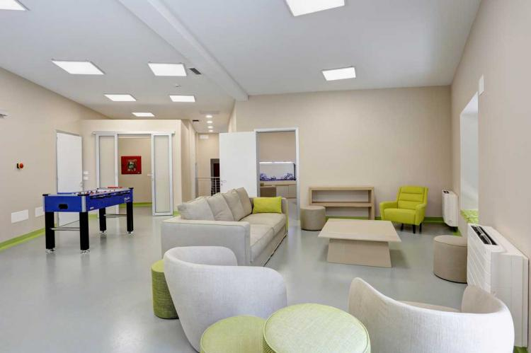 Oasis furnishes the Teen Zone