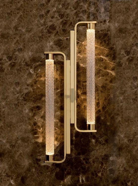Stradivari wall lamp - double unit
