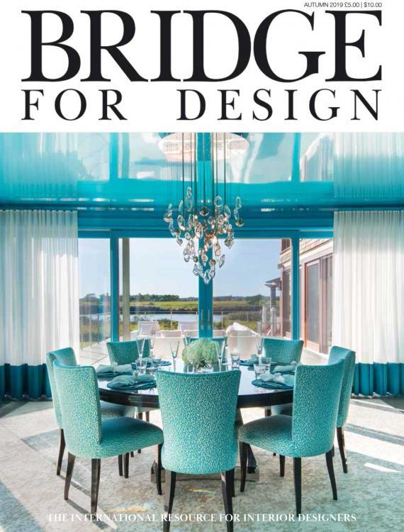 Bridge For Design Autumn issue 2019 - cover