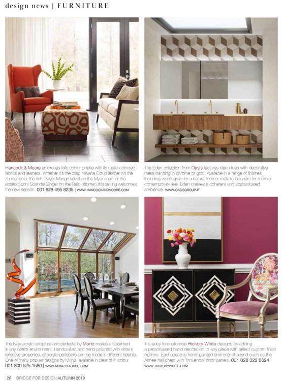 Bridge For Design Autumn issue 2019 - Editorial Dresscode