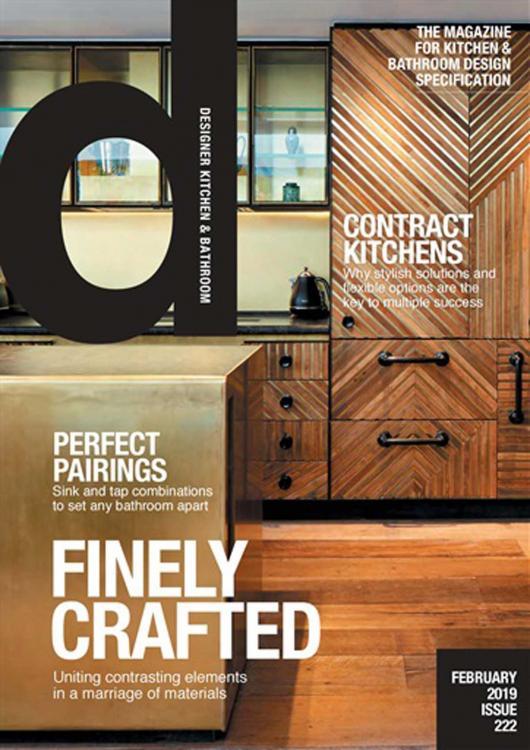 Designer Kitchen & Bathroom - Februay 2019 cover