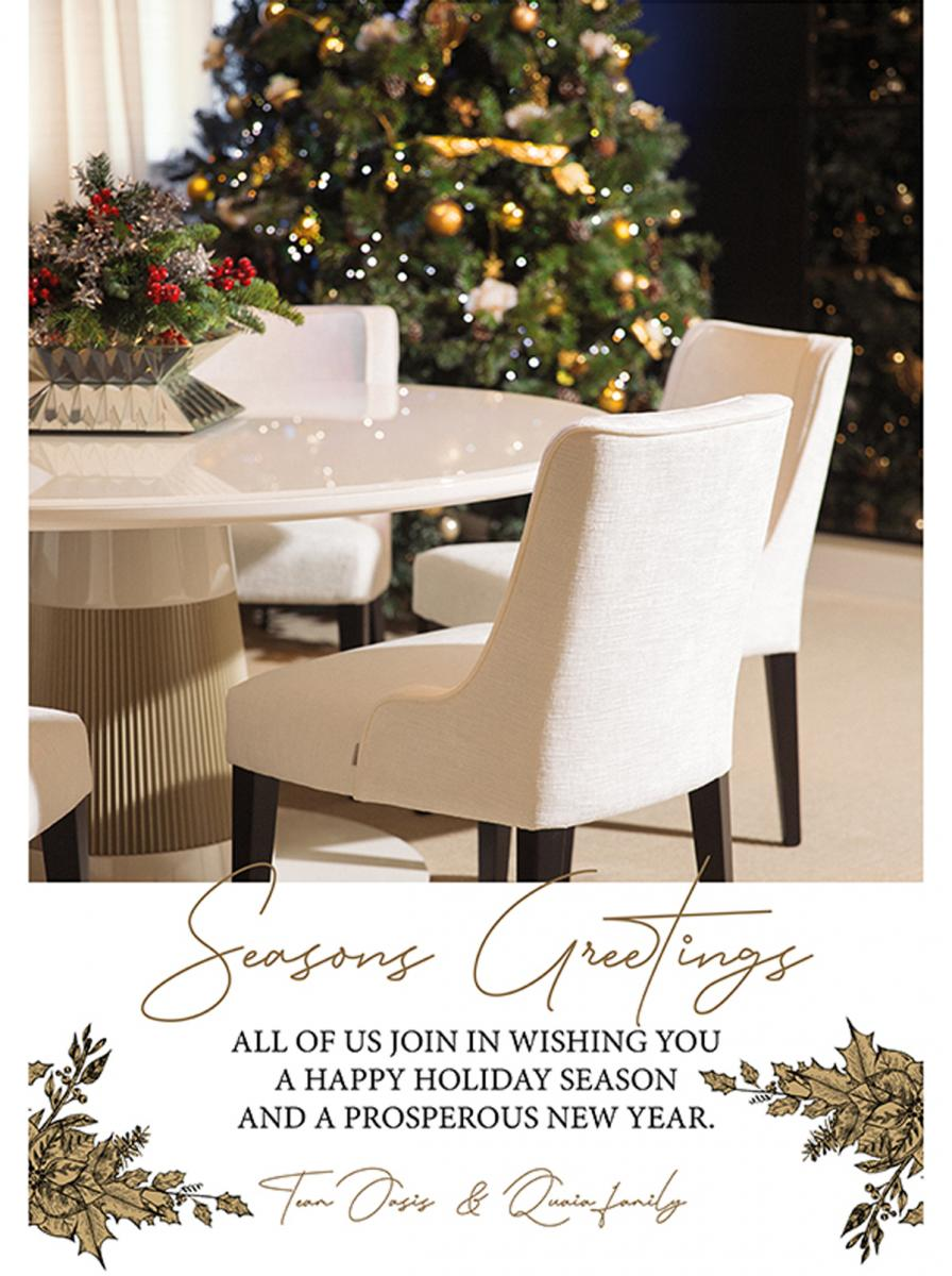 Seasons Greetings  – Italy, December 2019