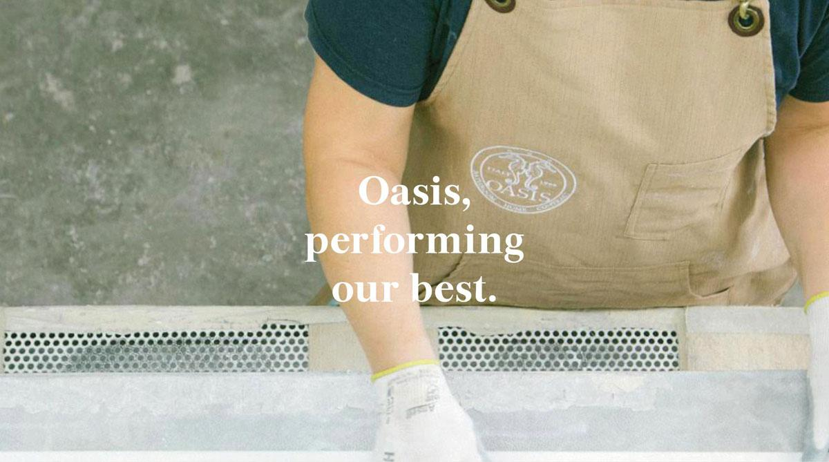 Oasis, performing our best