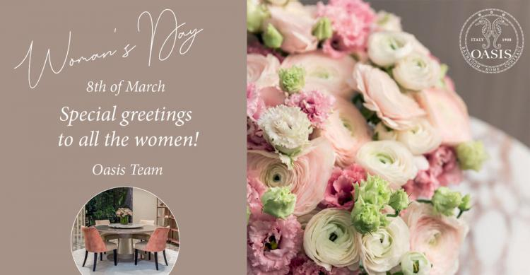Woman's Day - 8 March 2020