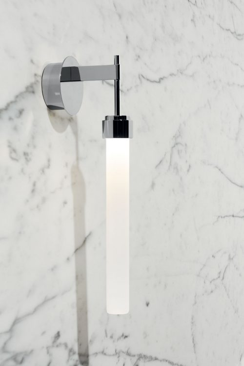 Ducale Flute Down - Wall Lamp - Smooth glass