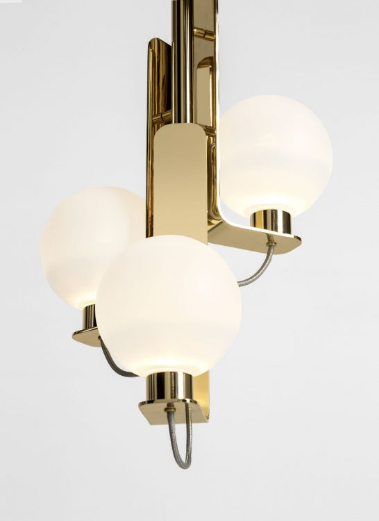 Ducale Sphera Up - Suspended Lamp - Single Unit - Smooth glass