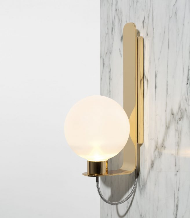 Ducale Sphera Up - Wall Lamp - Smooth glass